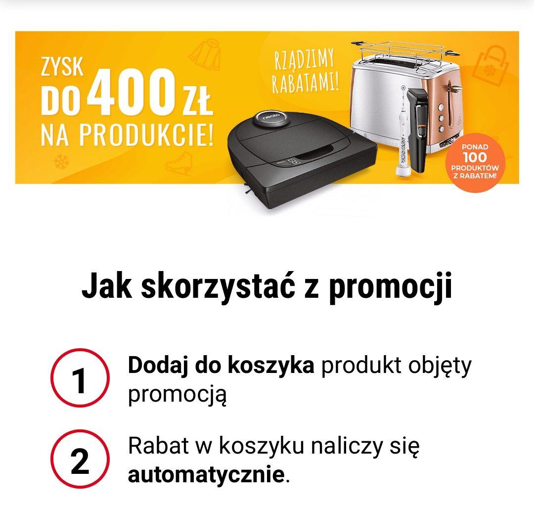 Zysk do 400 zł na produkcie neo24.pl
