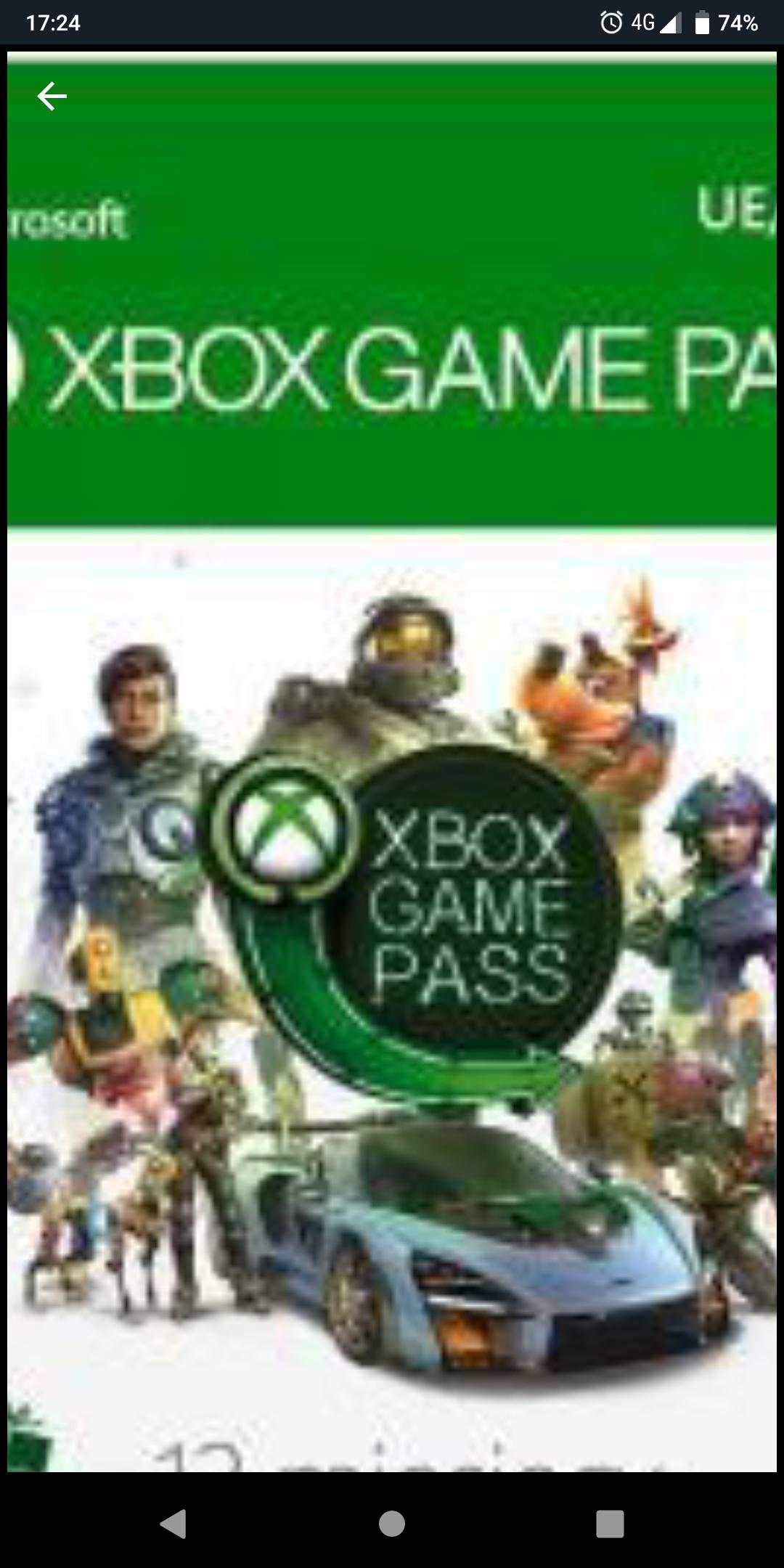 Xbox pass 6 miesięcy turcja