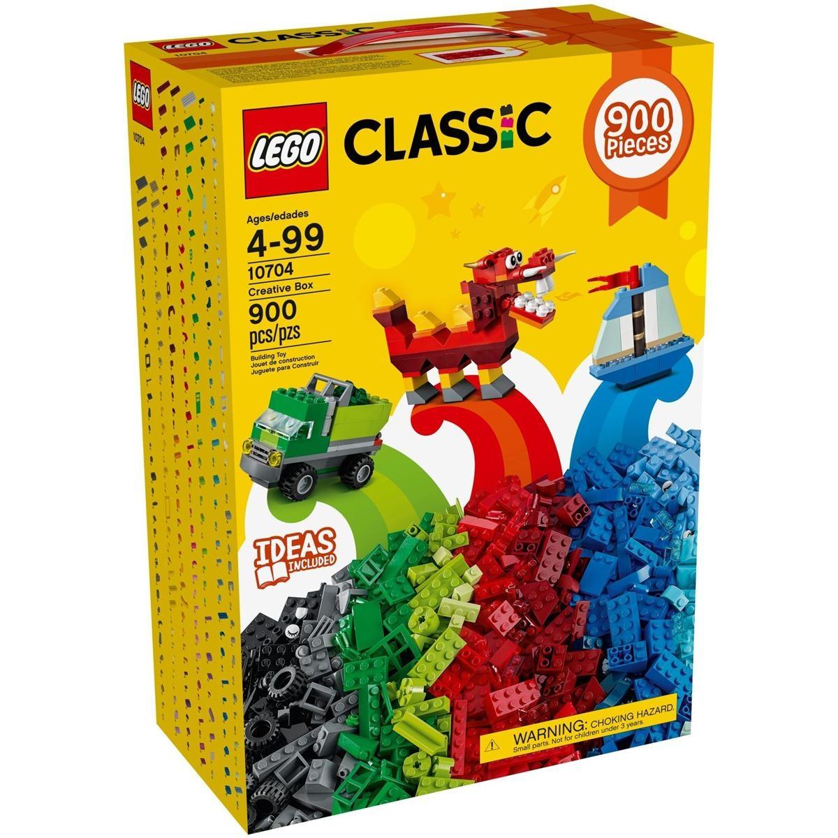 Lego classic 900 klocków smyk