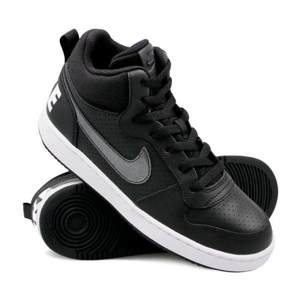 Nike Court Borough Mid GG Black 35,5-40