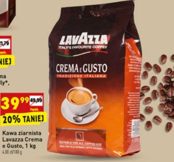 Lavazza Crema 1 kg @Biedronka