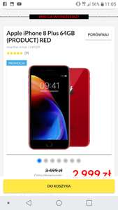 Apple iPhone 8 Plus 64GB (PRODUCT) RED