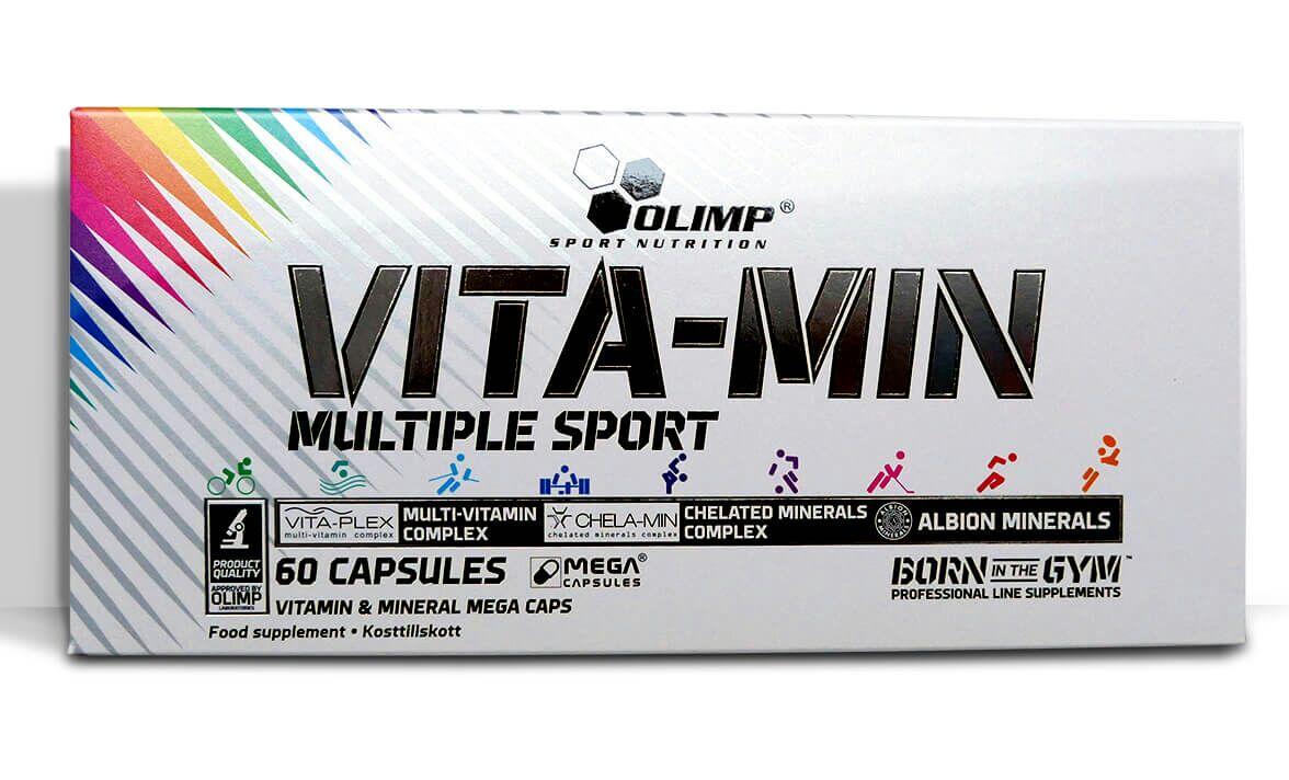 WITAMINY OLIMP Vita Min Multiple Sport 60 kaps. DOBRA CENA!