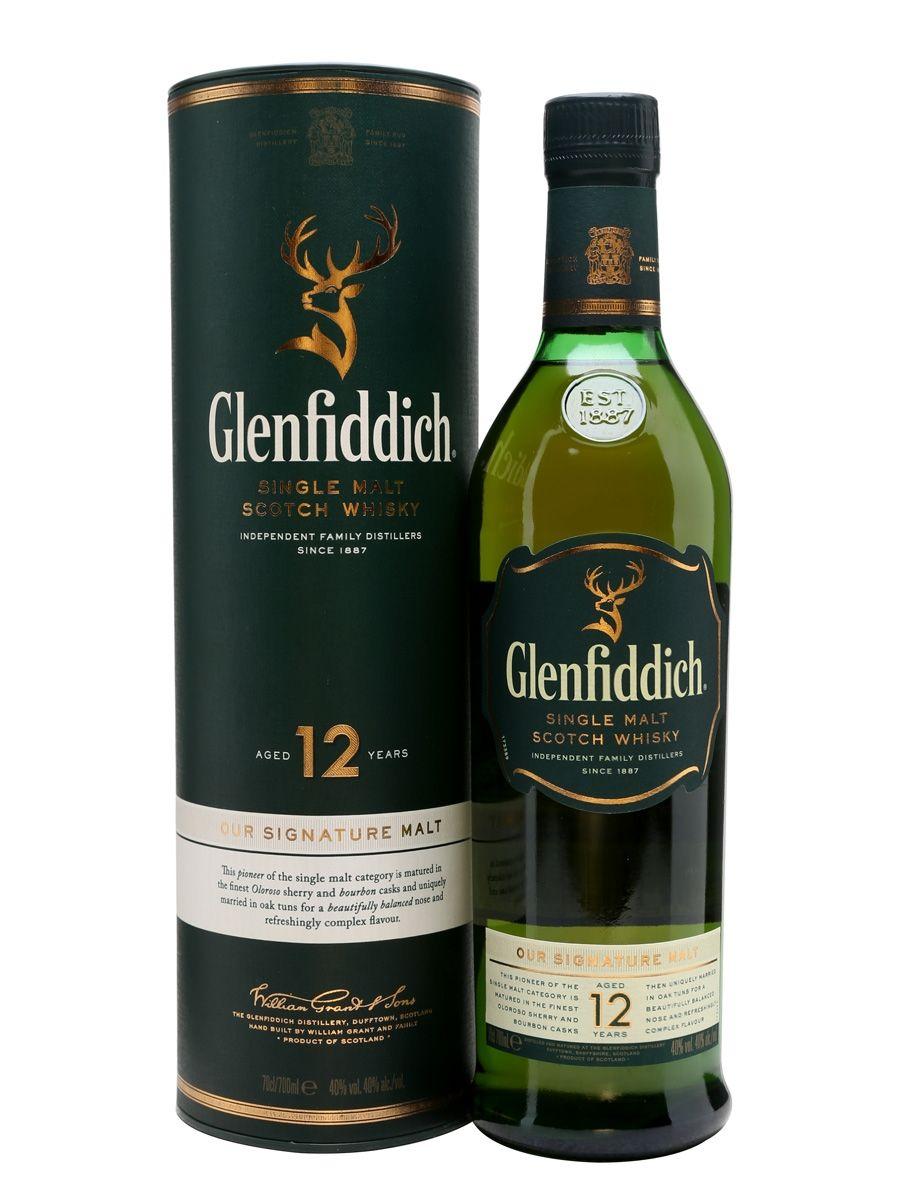 Glenfiddich 12YO 0.7