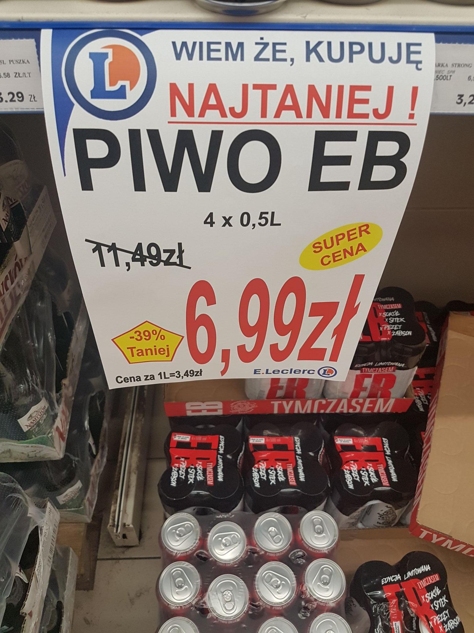 Piwo EB 4 x 0,5 l