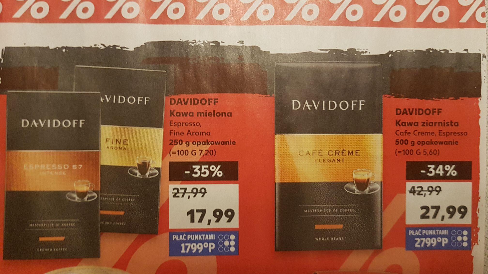 Kawa Davidoff w Kauflandzie - 35%
