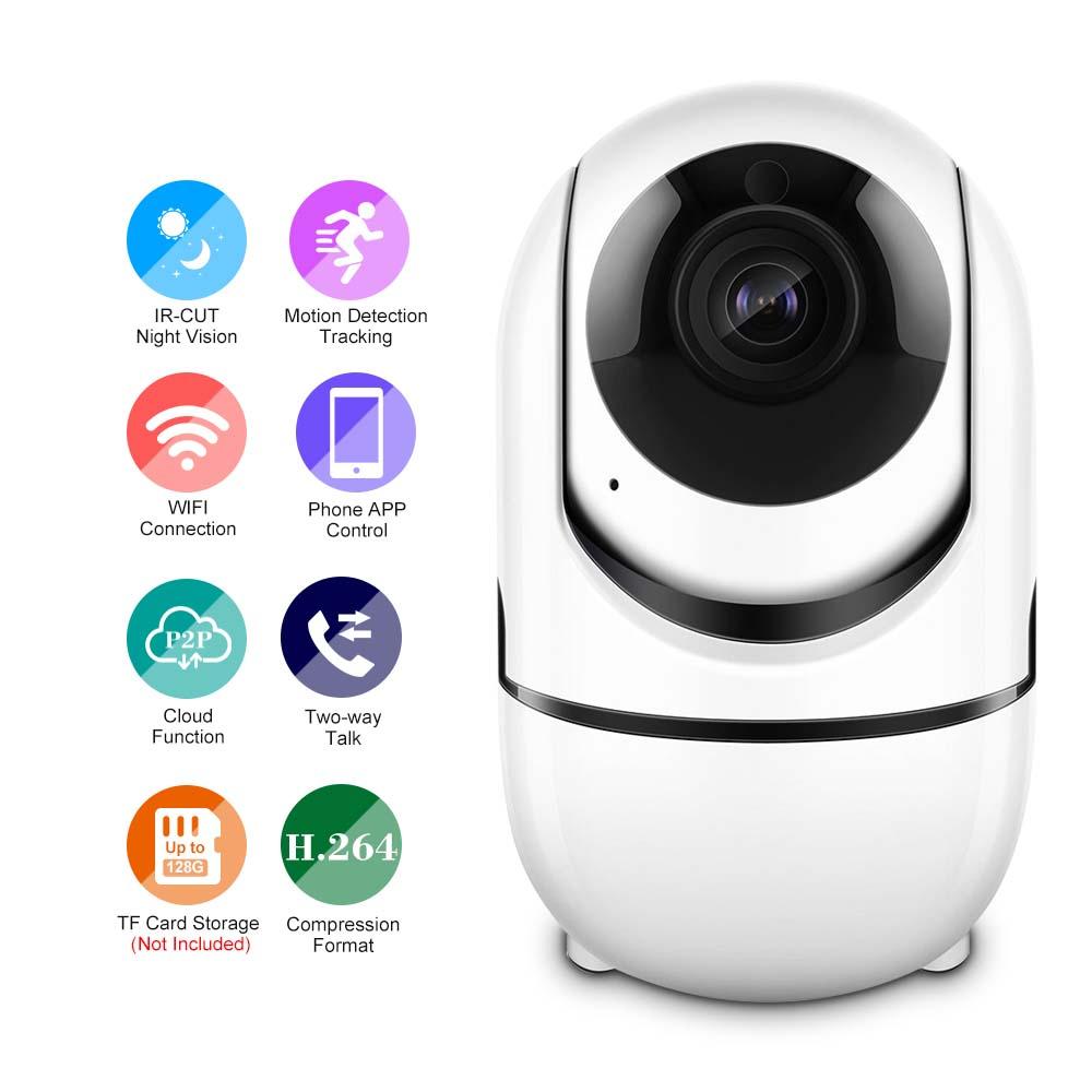 Kamera niania elektroniczna HD 1080P WiFi PTZ CCTV IP
