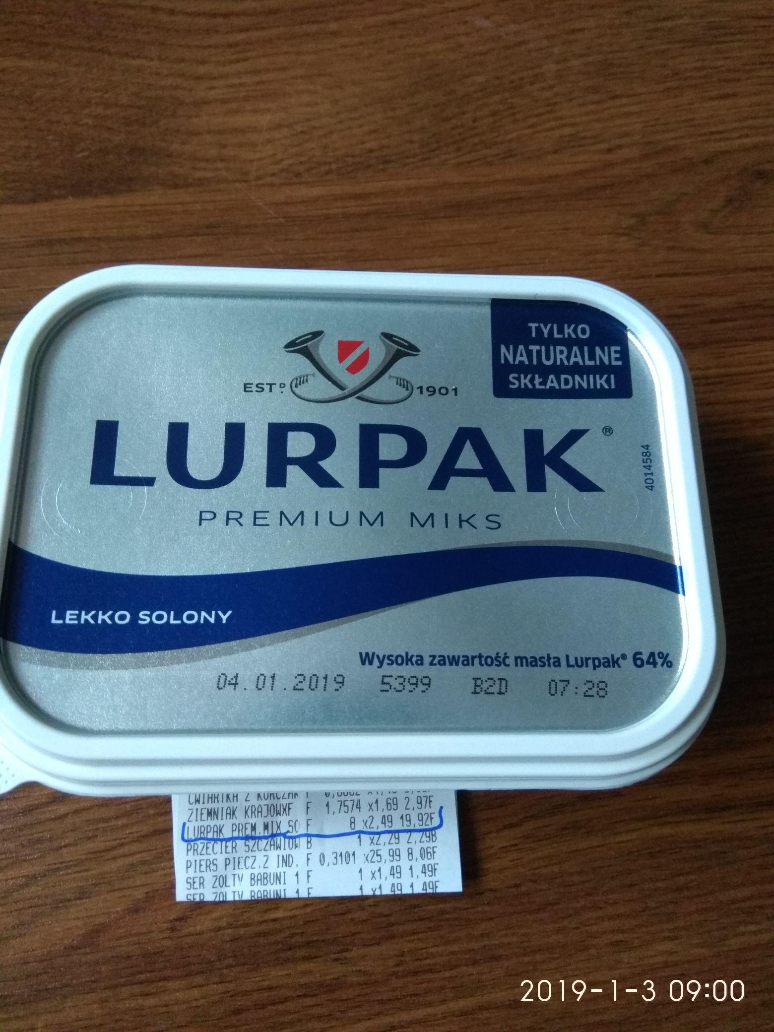 LURPAK Premium miks 2.49 za 200g INTERMARCHE