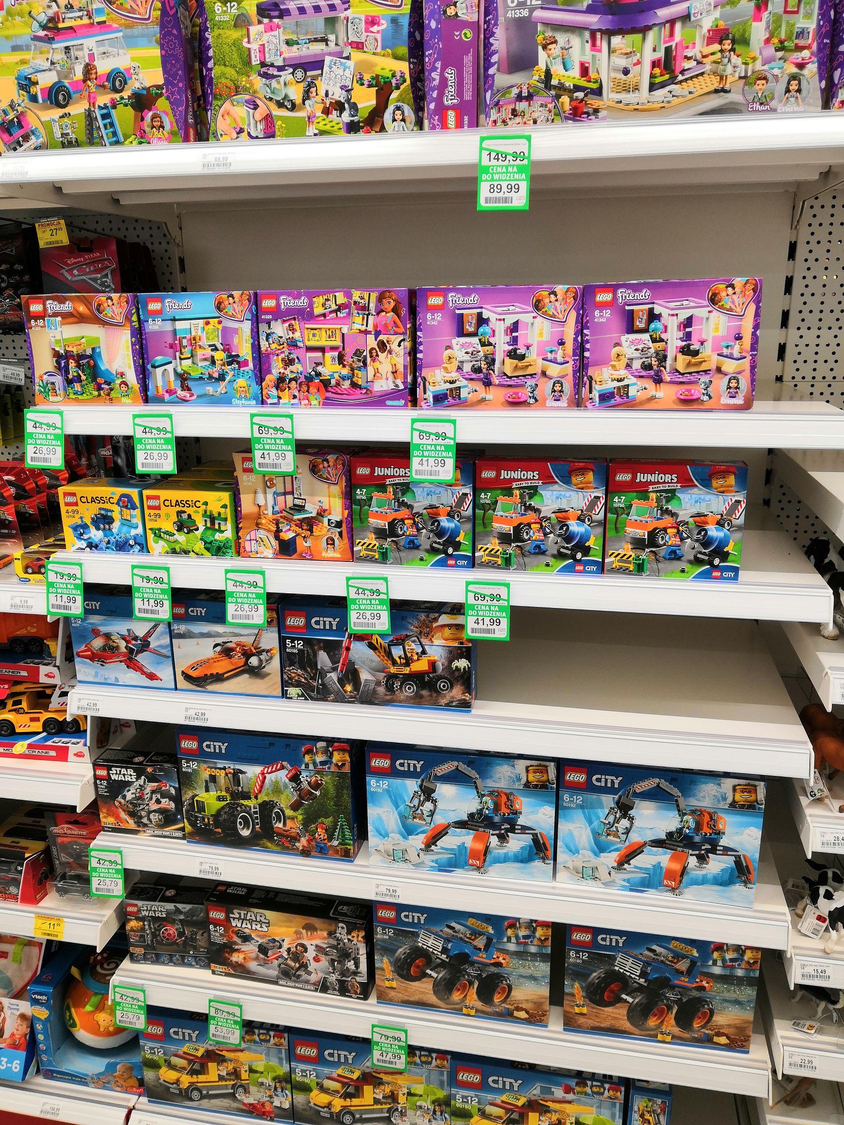 LEGO w Rossmannie na wyprzedaży