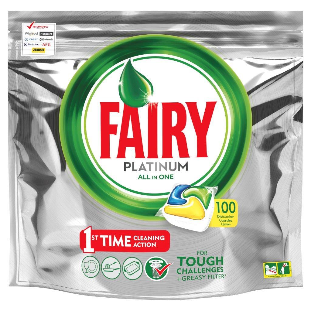 Fairy Platinum 100 szt za 59.99zł