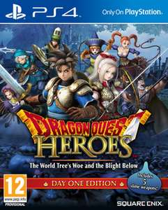 [Playstation 4] Dragon Quest Heroes: The World Tree's Woe & The Blight Below - Day One Edition @ GAME