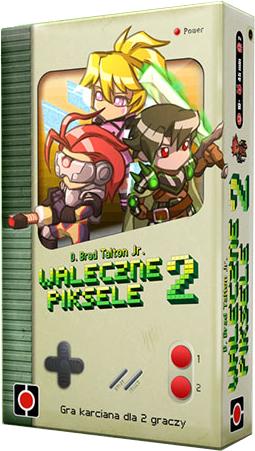 Waleczne Piksele 2 - gra karciana