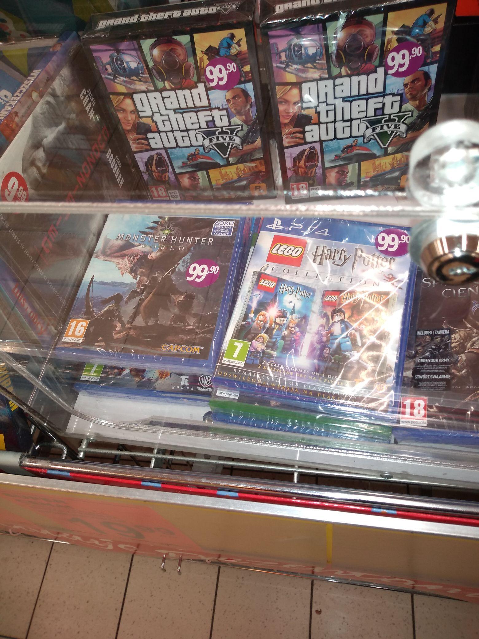 Monster Hunter PS4 Biedronka Katowice os.witosa