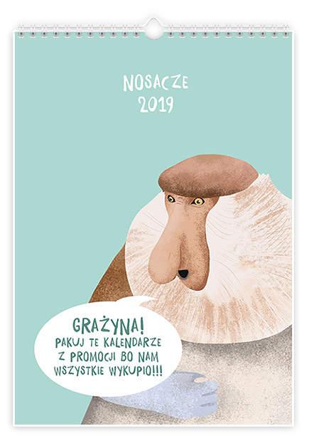 Polskie Nosacze - Kalendarz na 2019  rok