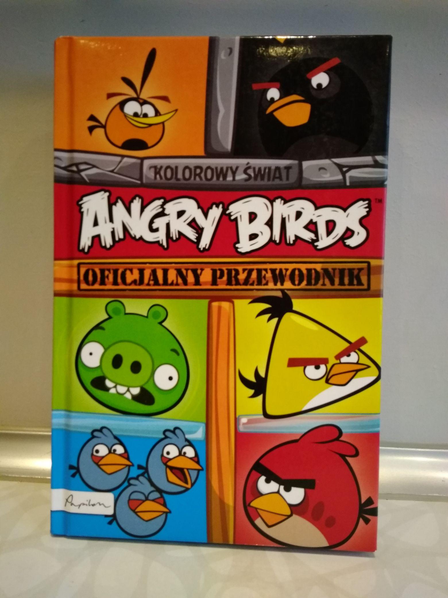 Książka Angry Birds oficjalny przewodnik