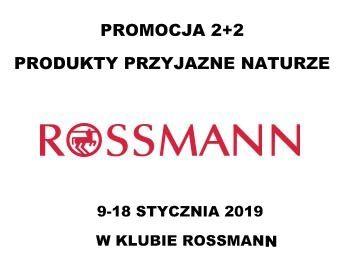 ROSSMANN 2+2 GRATIS na produkty przyjazne naturze w Klubie Rossmann