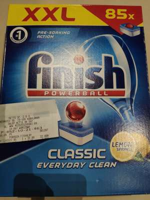 Tabletki do zmywarki Finish Clasic Powerball w Netto