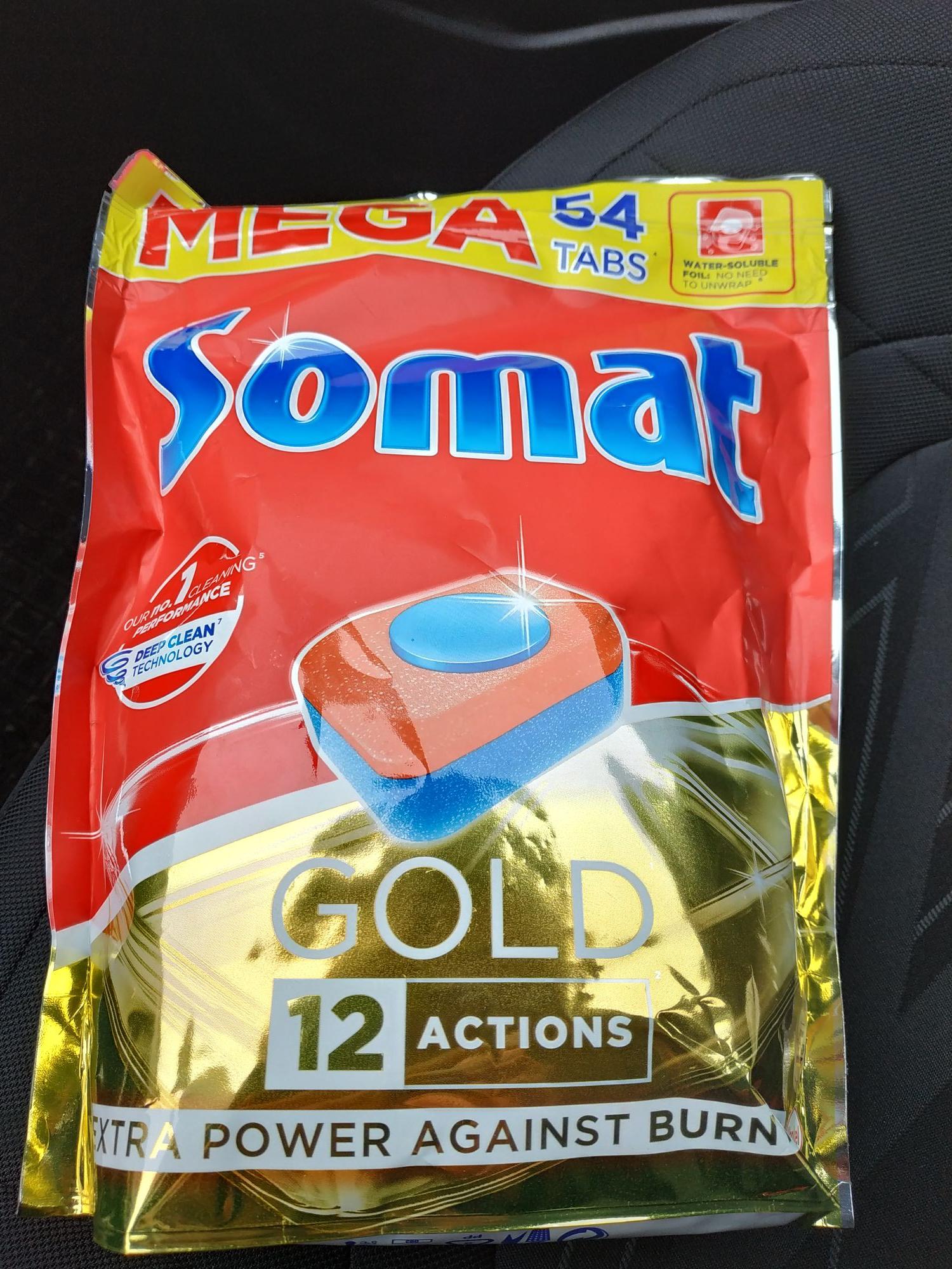 Tabletki do zmywarki Somat Gold 54szt. W Biedronce