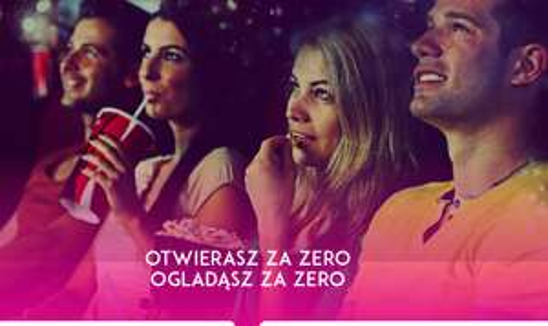 5 biletów do Multikina za otwarcie konta PKO Konto za Zero @ PKO BP/Multikino