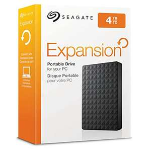 Dysk SEAGATE Expansion Portable 4TB Czarny, 93€ z polskim VAT @ Amazon.de