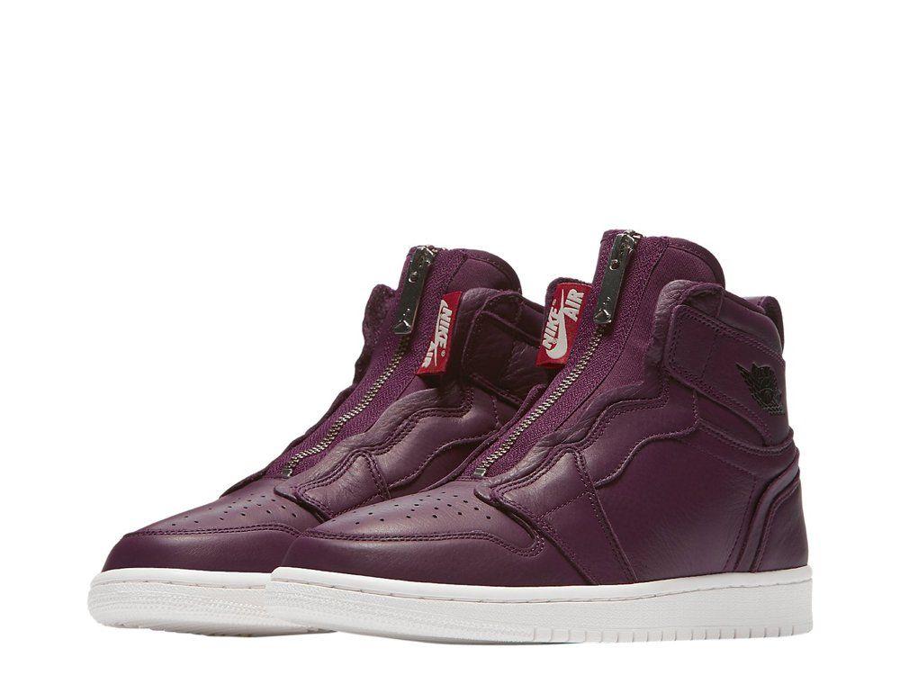 """Women's Air Jordan 1 High Zip Premium """"Bordeaux""""  Znowu dostępne 42"""