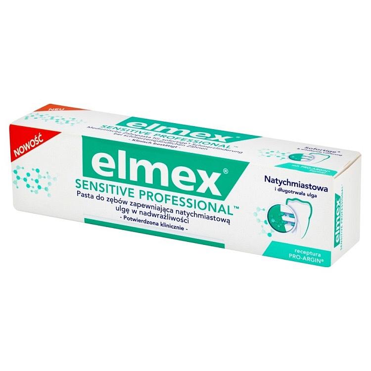 Elmex Sensitive Professional 2x75ml w cenie 9,99 zł @Apteka Melissa