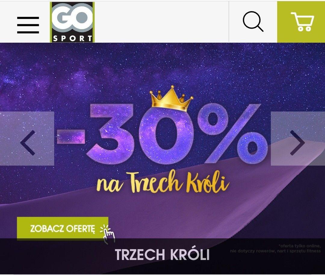 30% rabat Go Sport