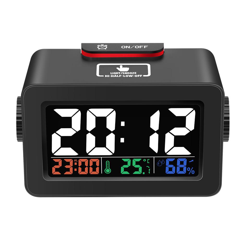 Zegar, budzik, termometr, higrometr Digoo (czarna, biała) za $7.77 @ Banggood