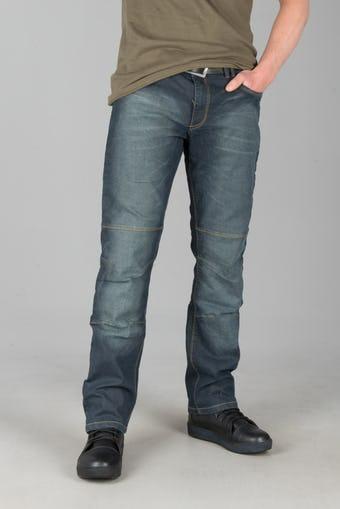 Motocyklowe Spodnie Jeans Course Drift Aramid Niebieskie