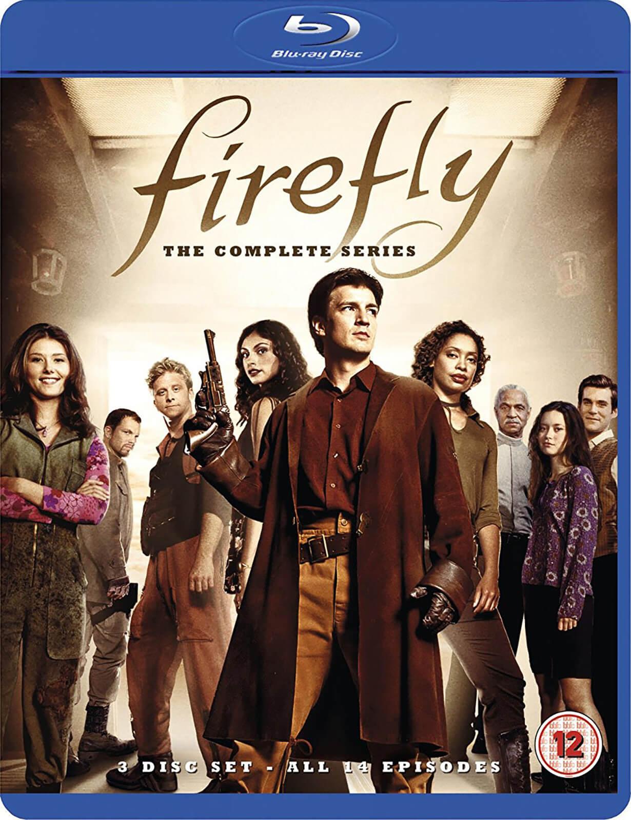 Serial Firefly na Bluray jęz. ang., niem., hiszp., fr., hol. BRAK PL