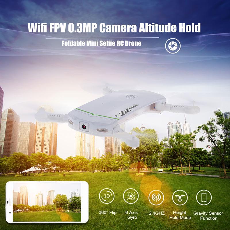 Dron LDIRC RC102 Wifi FPV 0.3MP z Altitude Hold i 3 bateriami 18 USD~68 PLN