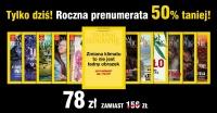 National Geographic ROCZNA PRENUMERATA 50% TANIEJ
