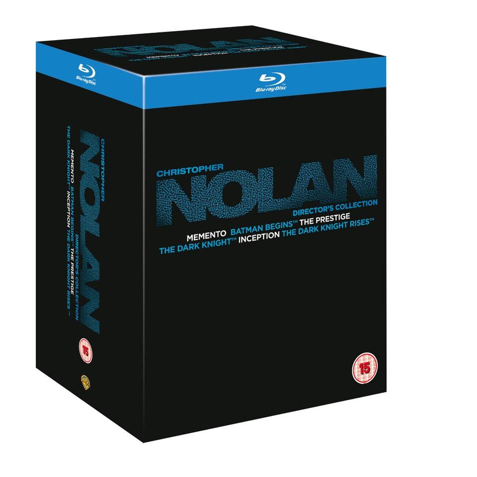 Blu-ray Nolan Kolekcja 6 filmów! Trylogia Batmana, Memento, Incepcja i Prestiż