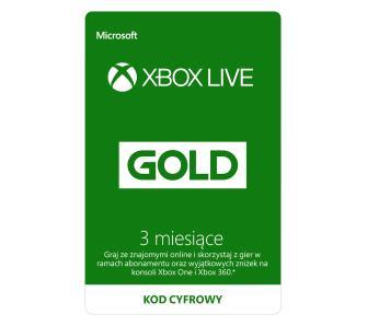 Xbox Live Gold na 6 miesięcy za 79 zł (RTV euro AGD)