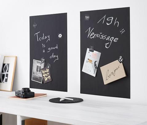 Samoprzylepne tablice do pisania kredą 35x50