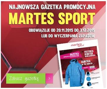 Darmowa dostawa na wszystko w Martes Sport