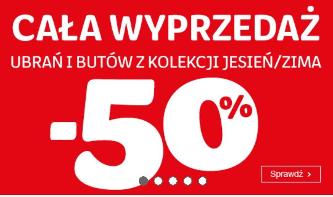SMYK -50% Cala wyprzedaż z kolekcji jesień/zima
