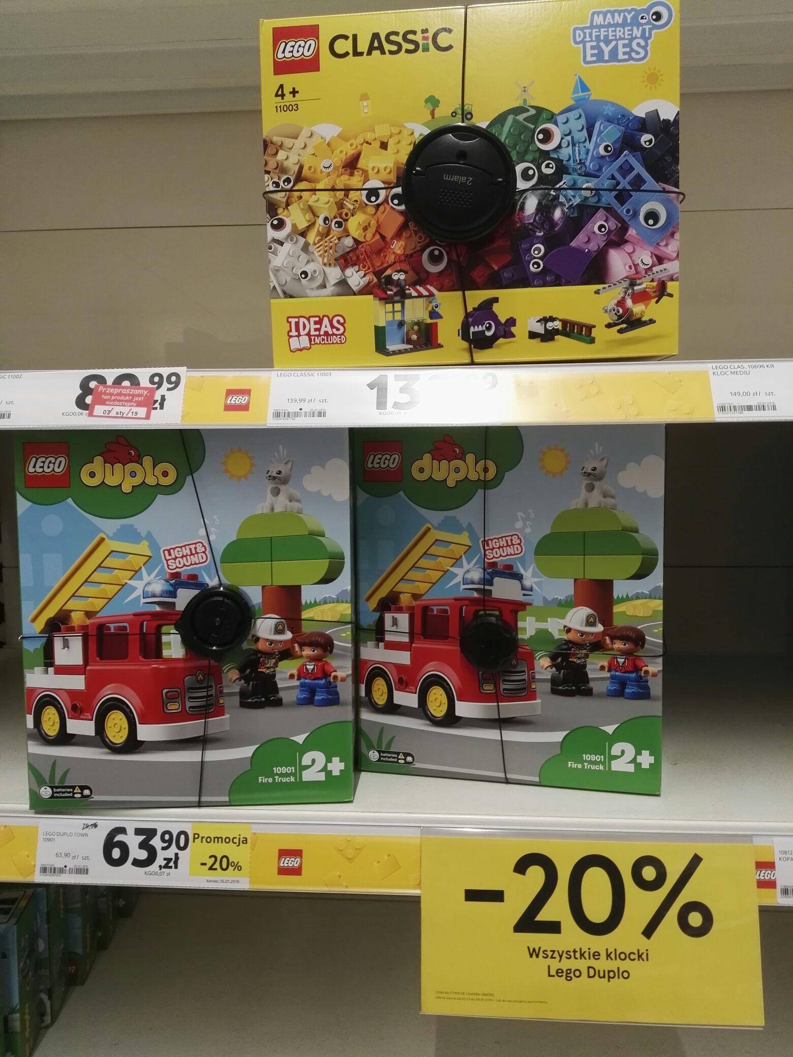 TESCO dla abstynentów - LEGO DUPLO, kawa -20% i inne