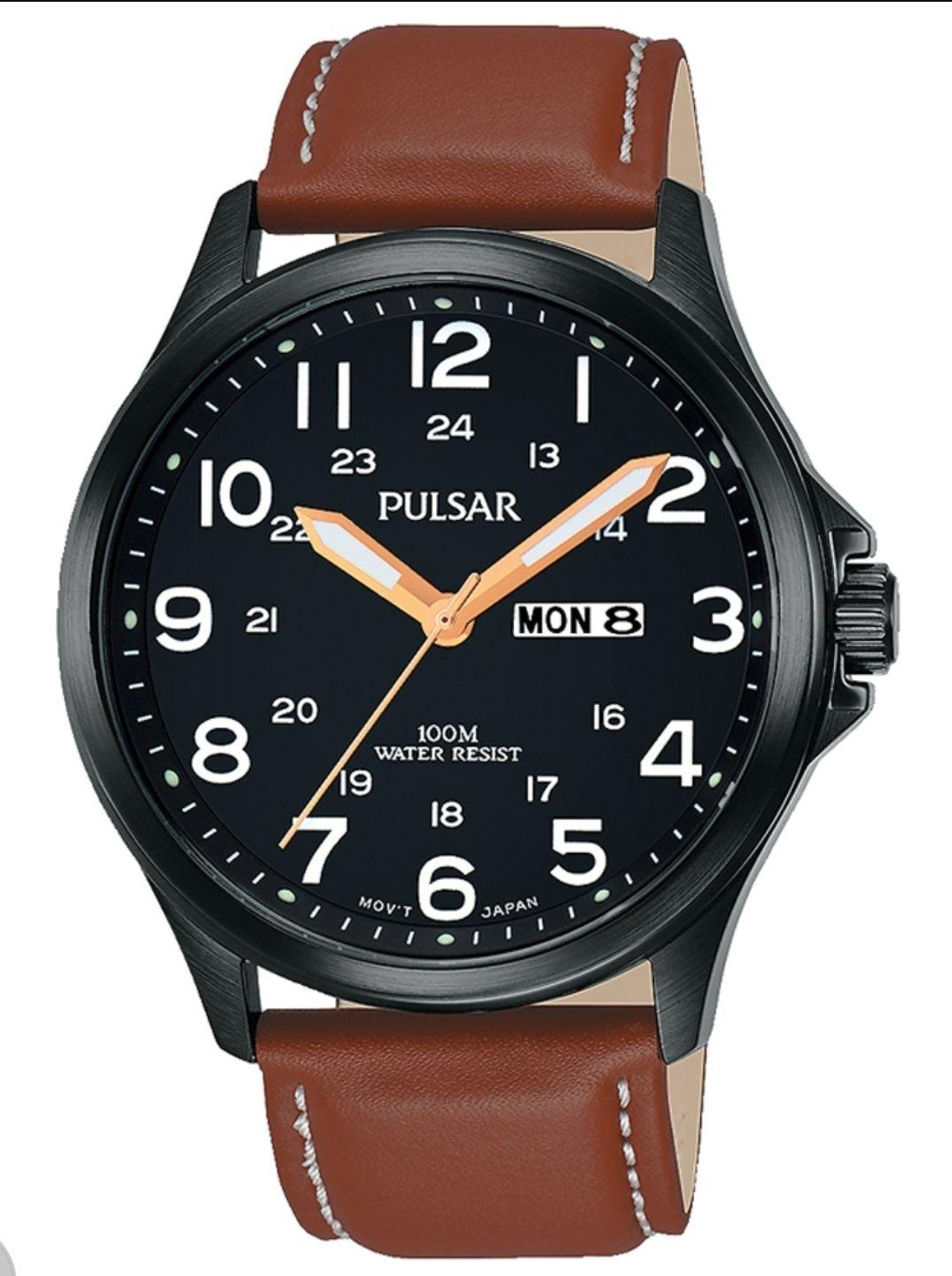 Zegarek PULSAR (by Seiko) PJ6093X1. Męski.100m. £30