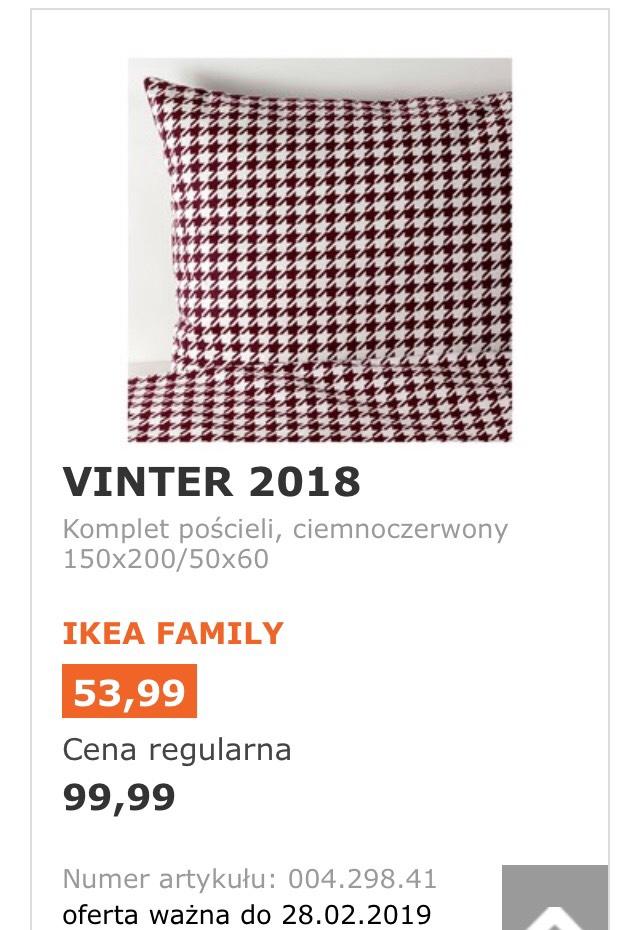 IKEA Poznań Komplet pościeli 150x200/50x60 cm