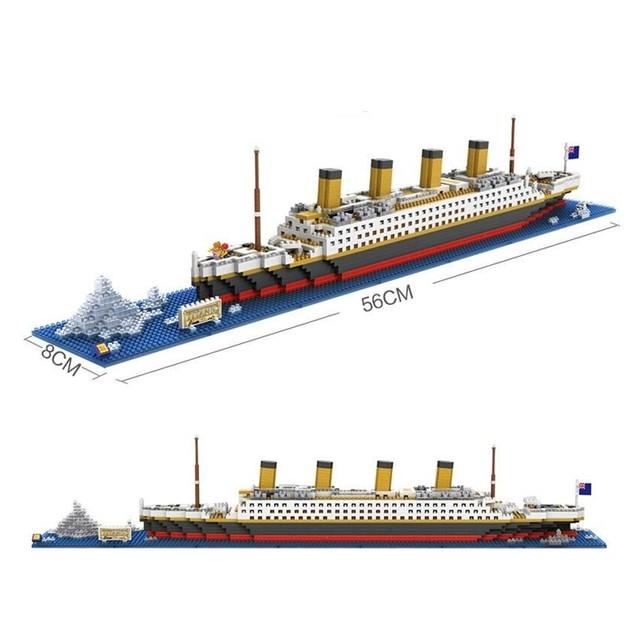 Model Titanica z klocków taniej - za $16.14 @ aliexpress
