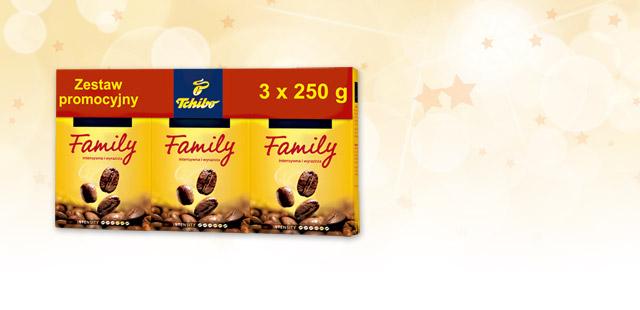 Kawa Tchibo Family 750g za 13,89zł @ Biedronka