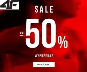 4F Wyprzedaż nawet do -50%