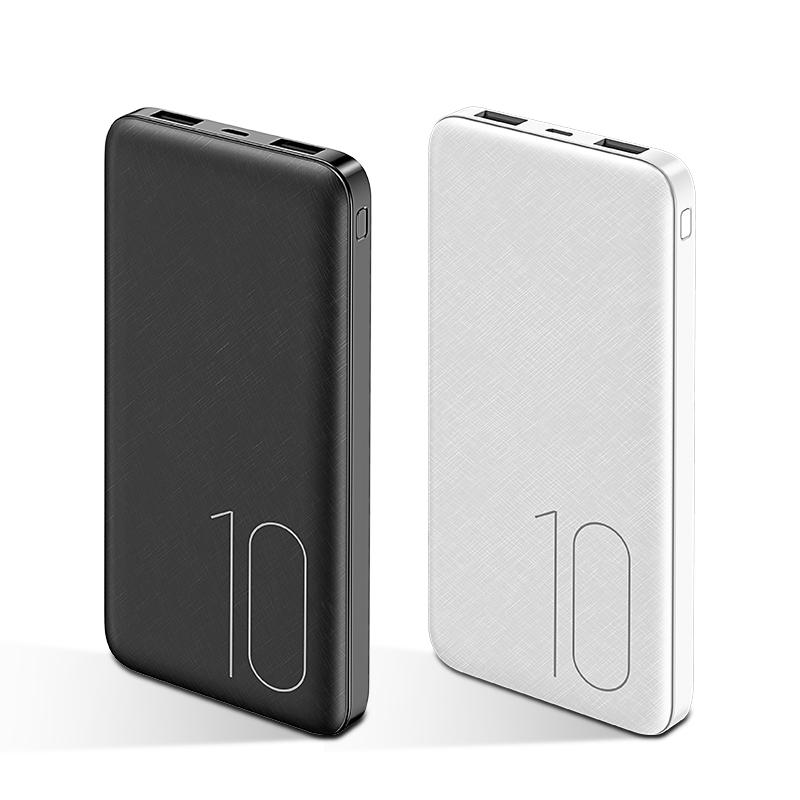 Mini Power Bank USAMS PB10 10000mAh, Dual USB, 2x2A