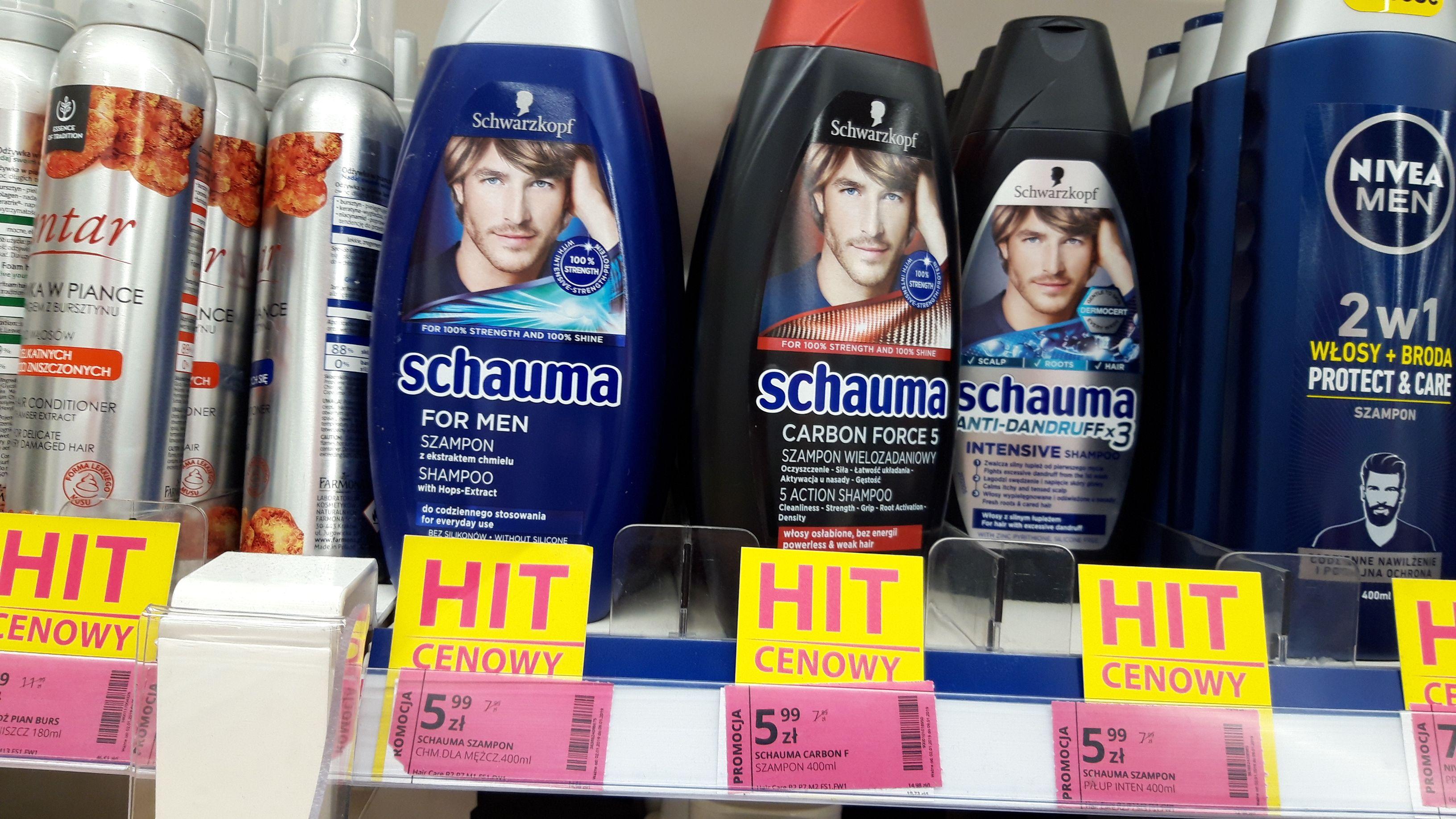 Szampon Schauma 400 ml dla mężczyzn w Hebe