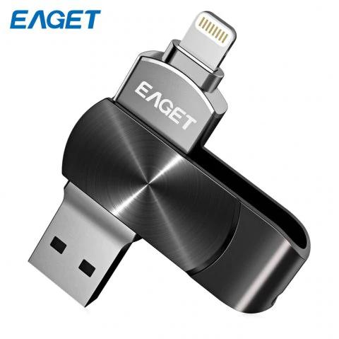 Pendrive OTG EAGET i66 128GB z USB 3.0 do iPhone @ DressLily