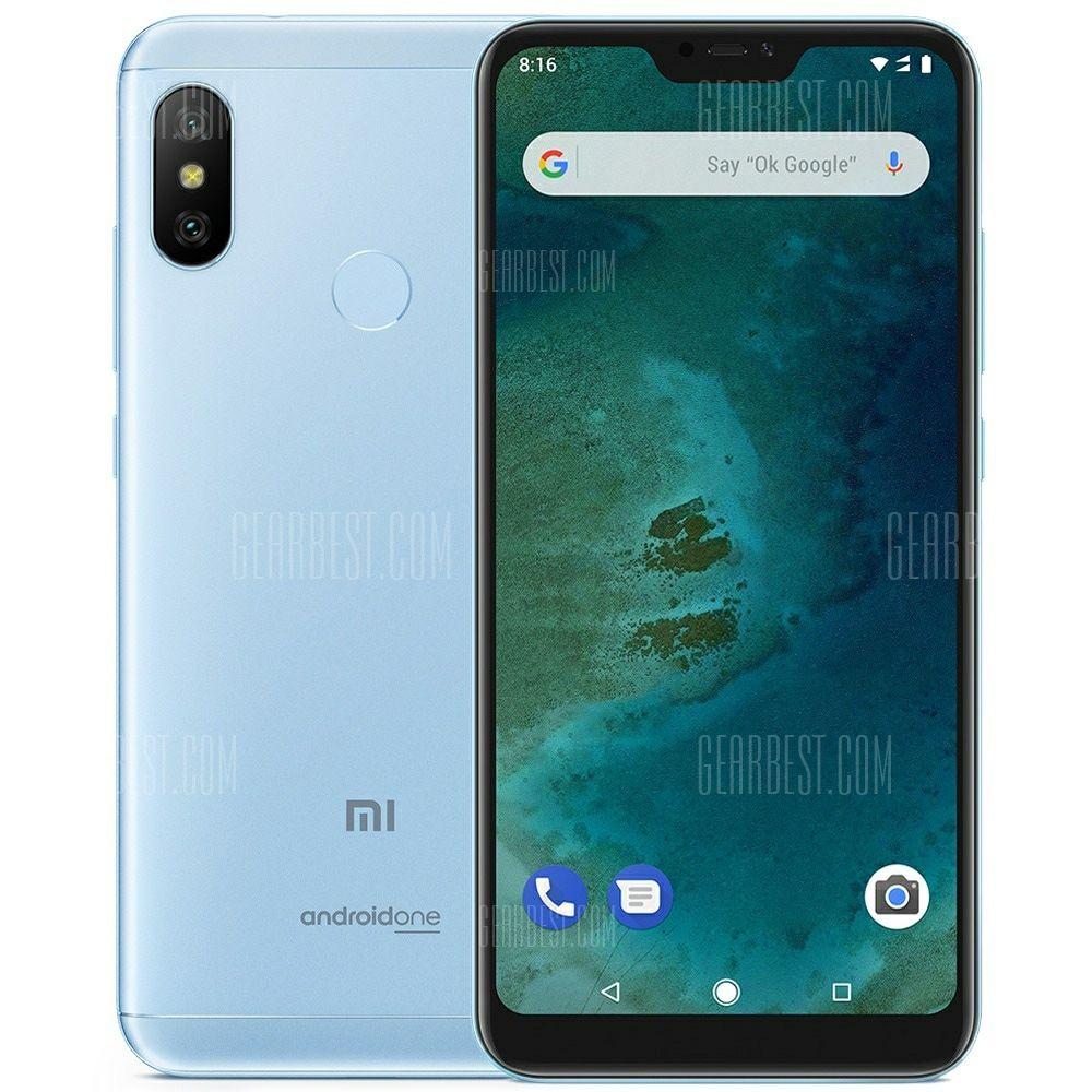 Xiaomi MiA2 Lite 3/32 GB Gearbest 145.19$ + priority line bez VAT