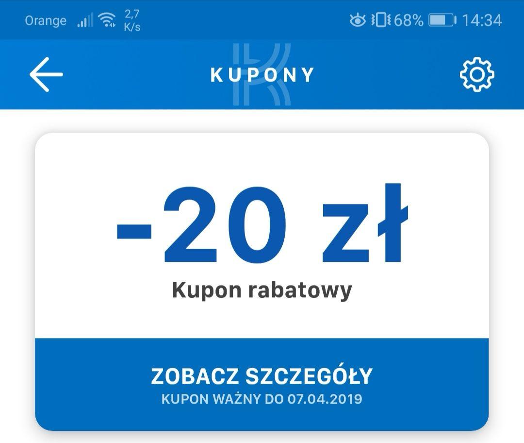 Kupon rabatowy Komputronik -20 zł bez minimum zamówienia