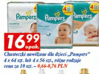 4-pak chusteczek Pampers Auchan