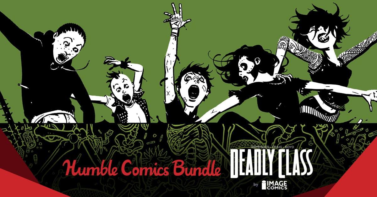 HUMBLE COMICS BUNDLE: DEADLY CLASS BY IMAGE COMICS